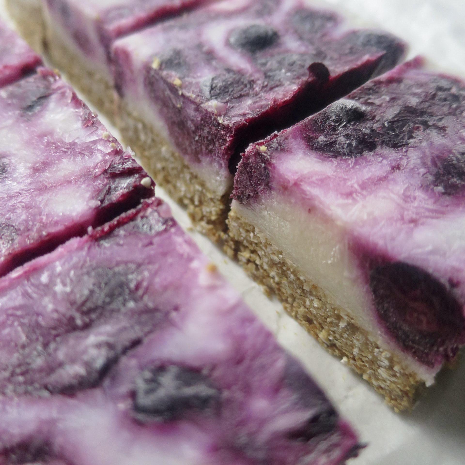 Blueberry Yogurt Bars